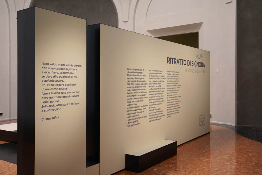 """""""Ritratto di Signora"""" di Klimt"""