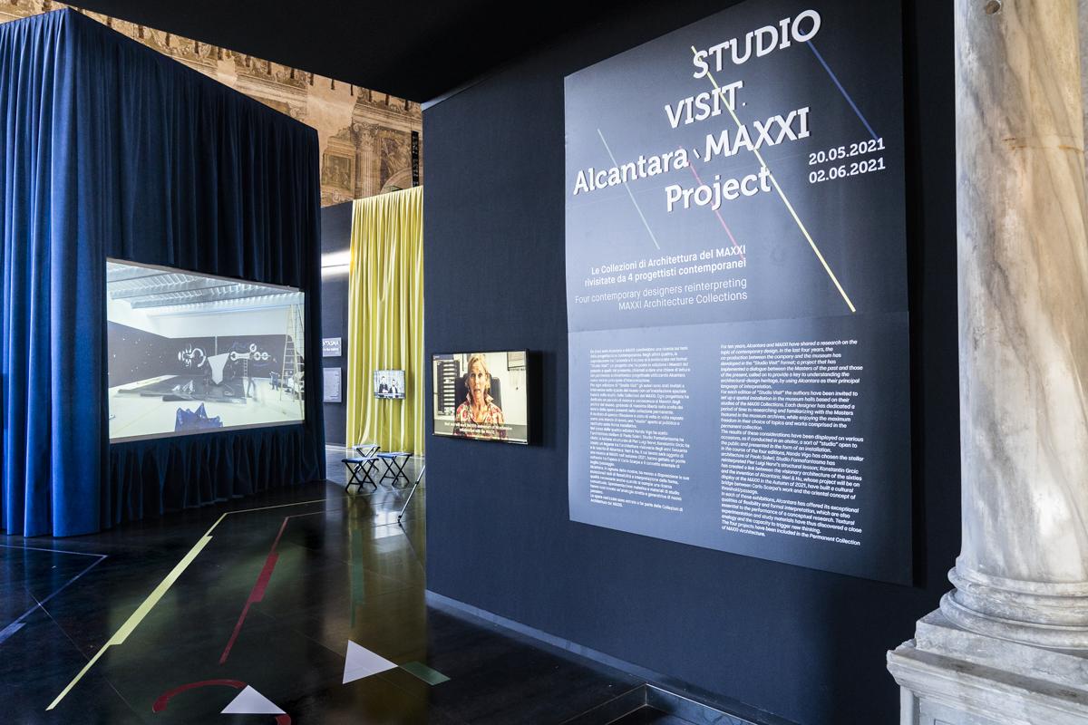 """""""STUDIO VISIT Alcantara MAXXI Projects"""""""