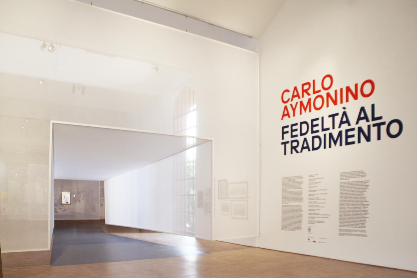"""Carlo Aymonino. Fedeltà al Tradimento"""